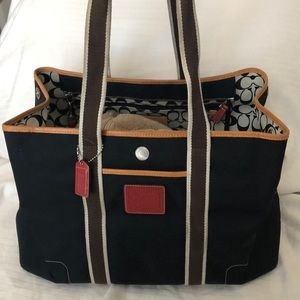 One of a kind Coach Tote